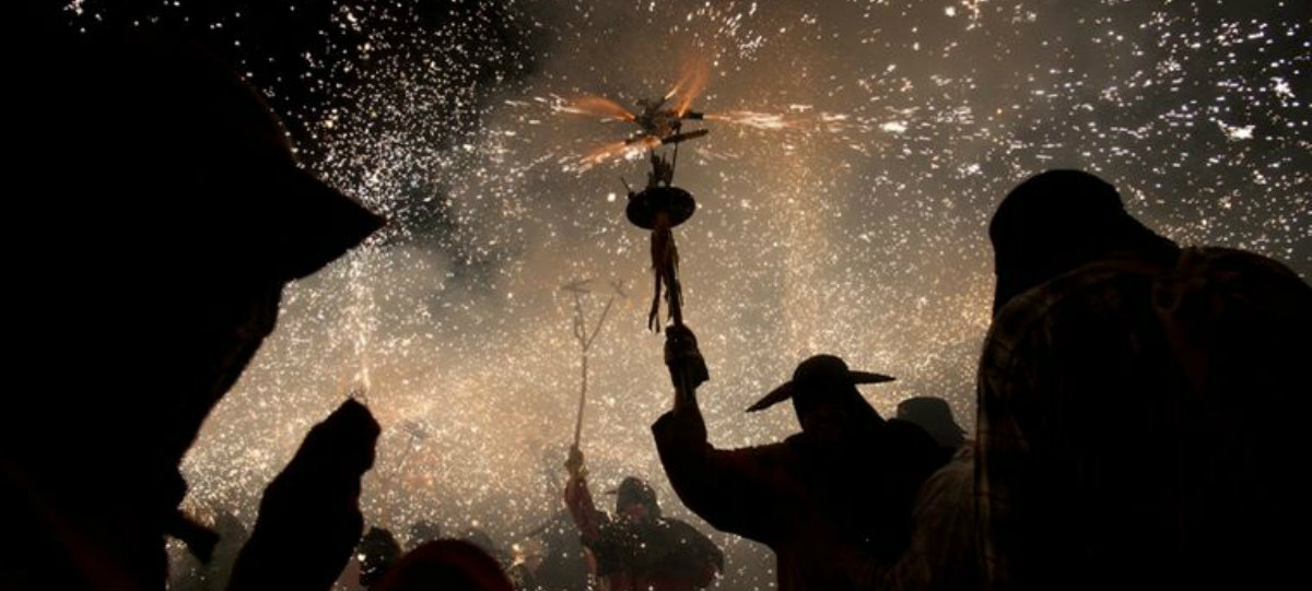 correfoc - quirky Barcelona tradition